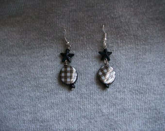 Pretty in Plaid earrings