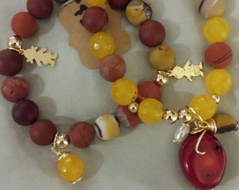 Mistic Volcano Arm Candy Stack Bracelets
