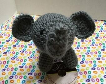 Crochet Elephant, Elephant Amigurumi, Crocheted Elephant, Nursery Decor