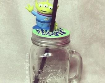 Disney Mason Jar Glass