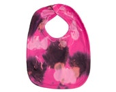 Pink Baby Bib - Hand Dyed...