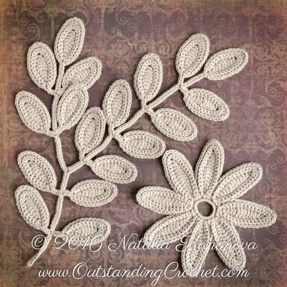 Outstanding Crochet New Irish Crochet Motifs Pattern In The Shops