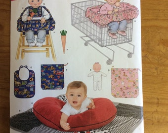 Simplicity 4225, Baby Accessories Pattern, Uncut, Sewing Pattern