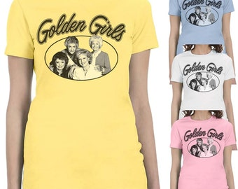 The Golden Girls T-shirt 80s Comedy Show Ladies Slim-Fit S-2XL T-shirts