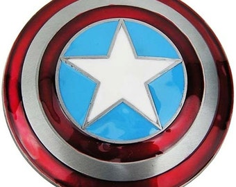 Marvel Comics Captain America Series Curved Shield Belt Buckle