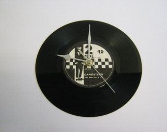 "The Specials/The Selecter - ""Gangsters/Selecter"" Record Wall Clock"