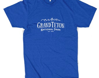 Grand Teton National Park Cotton/Poly T-Shirt