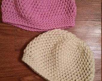 elegant stitch beanies