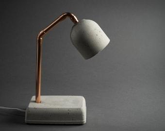"""Concrete Lamp """"Bedside Lamp"""""""