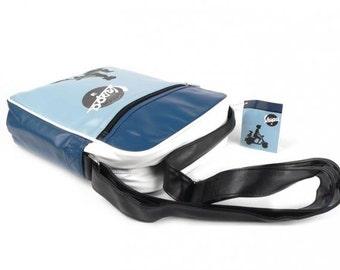"""Vespa shoulder bag/Vespa shouderbag """"Ragazza cane"""""""