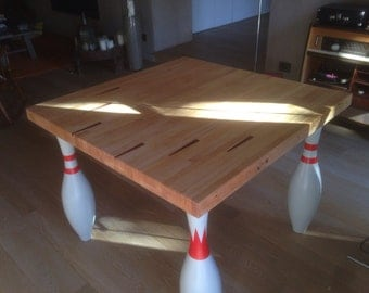 Table bowling alley