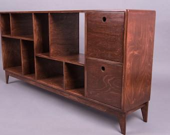 wooden tv cabinet / console FUZZLE.2