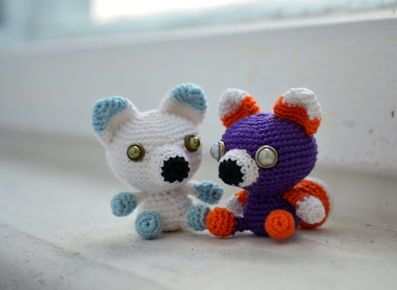 Little Fox Amigurumi : Little Fox. Amigurumi