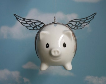 Flying Piggy Bank Etsy