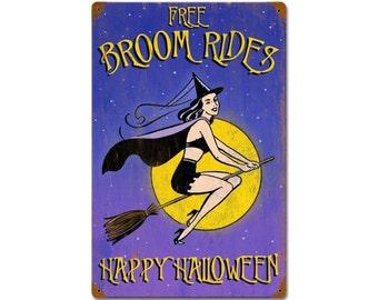 Halloween Broom Rides