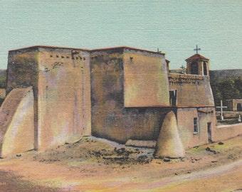 Los Ranchos de Taos, New Mexico Church of St. Francis of Assisi Comanches, Georgia O'Keeffe