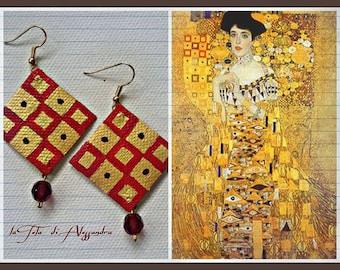 Klimt Earrings / Orecchini