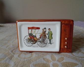 television money box