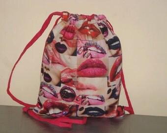rucksack / backpack lips