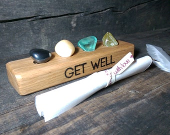 Get Well crystal set - Reiki Infused