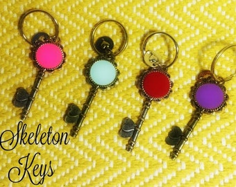 Skeleton Key Keychains