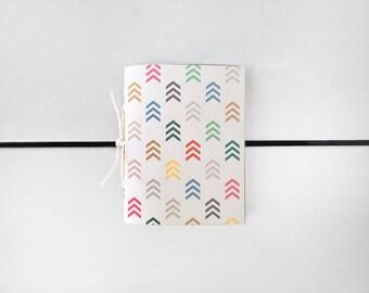 Colored Arrows Sketchbook