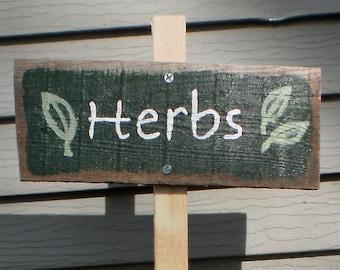Garden Marker for herbs