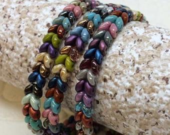 Fish Scales Wrap Around Bracelet