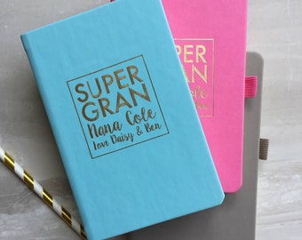 Personalised SuperGran Notebook