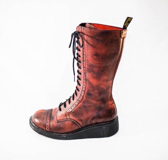 doc martens lace up combat boots s doc martens