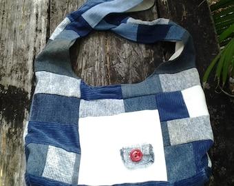 Shoulder Bag - Patchwork 013