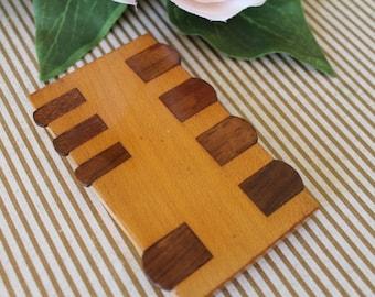 Vintage Wooden Whisk/Game Marker/Vintage Games/Board Game/SALE
