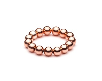 Ball closure rings • Maxi • Rosé gold