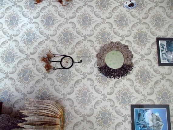 Specchiera da parete, specchio da muro, cornice in cartapesta, cornice ...