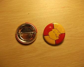 Gryffindor badge