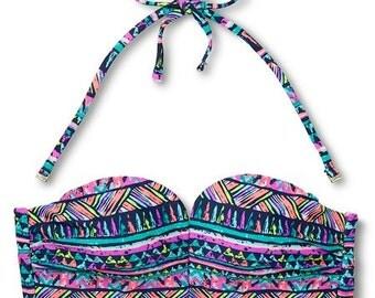 Multi color swim suit
