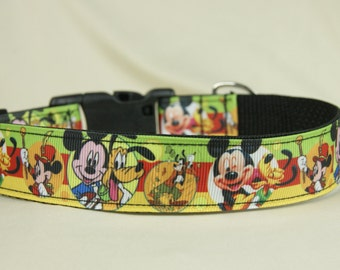 Fall Mickey Mouse dog collar-Free US Shipping