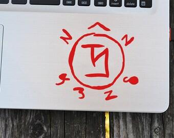 Deadpool Decal Laptop Decal Vinyl Decals Macbook Decal