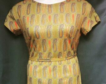 1960s Mod Wilroy New York dress