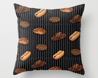 Cookout Throw Pillow - MULTIPLE SIZES
