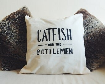 Catfish and the Bottlemen Logo Cushion Cover 50x50cm