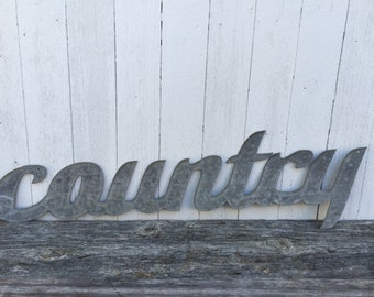 COUNTRY Script Word