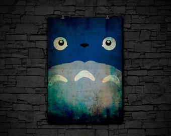 My Neighbor Totoro Poster Studio Ghibli Hayao Miyazaki