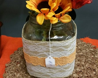 Beautiful Glass Container/Organizer/Spacesaver