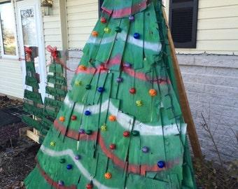 Wood shingle Christmas Tree