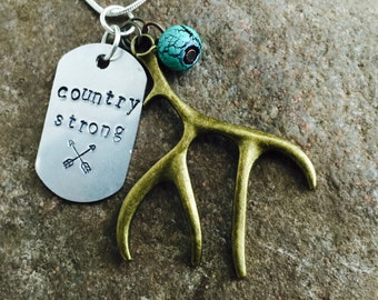 Country Strong Necklace FREE SHIPPING