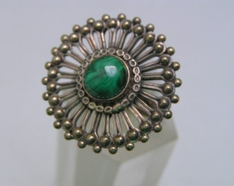 Massive Silver  Ring. Tribal Silver jewelry