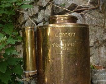 sprayer former deco vine wine campaign brass for decoration