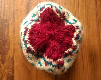 Children's Woolen Multicolor Hat