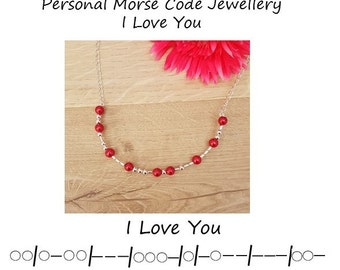how to say i love you in morse code